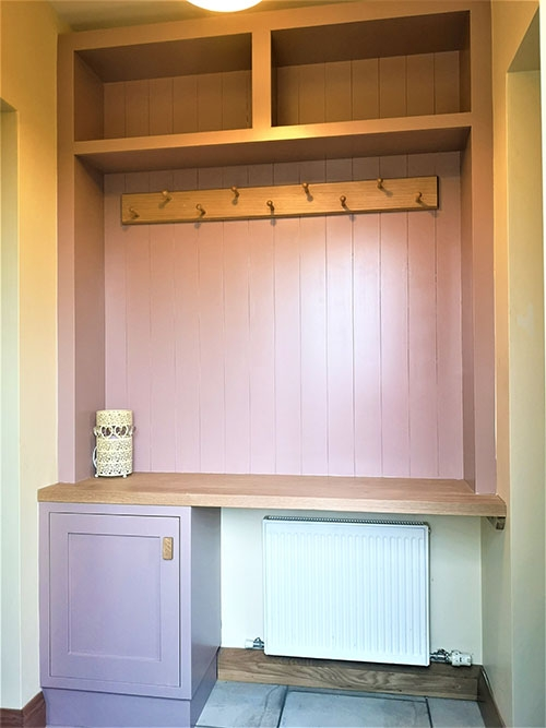 fitted boot room patrick lawless woodworking 2